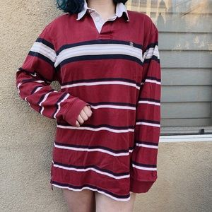 Vintage oversized rugby shirt